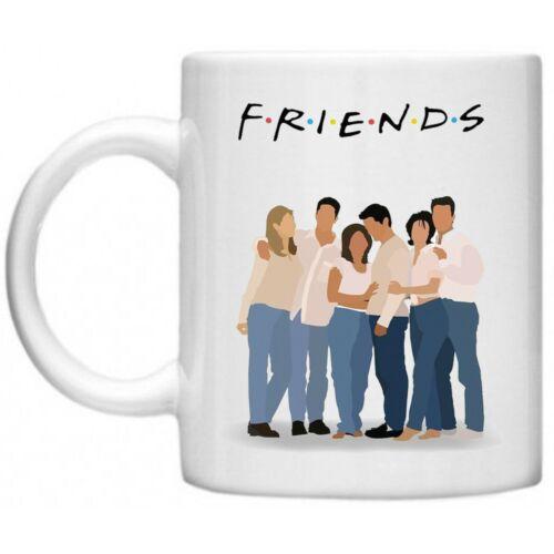 Friends Group Title TV Series Joey Chandler Ross Monica Rachel Phoebe 10oz Mug