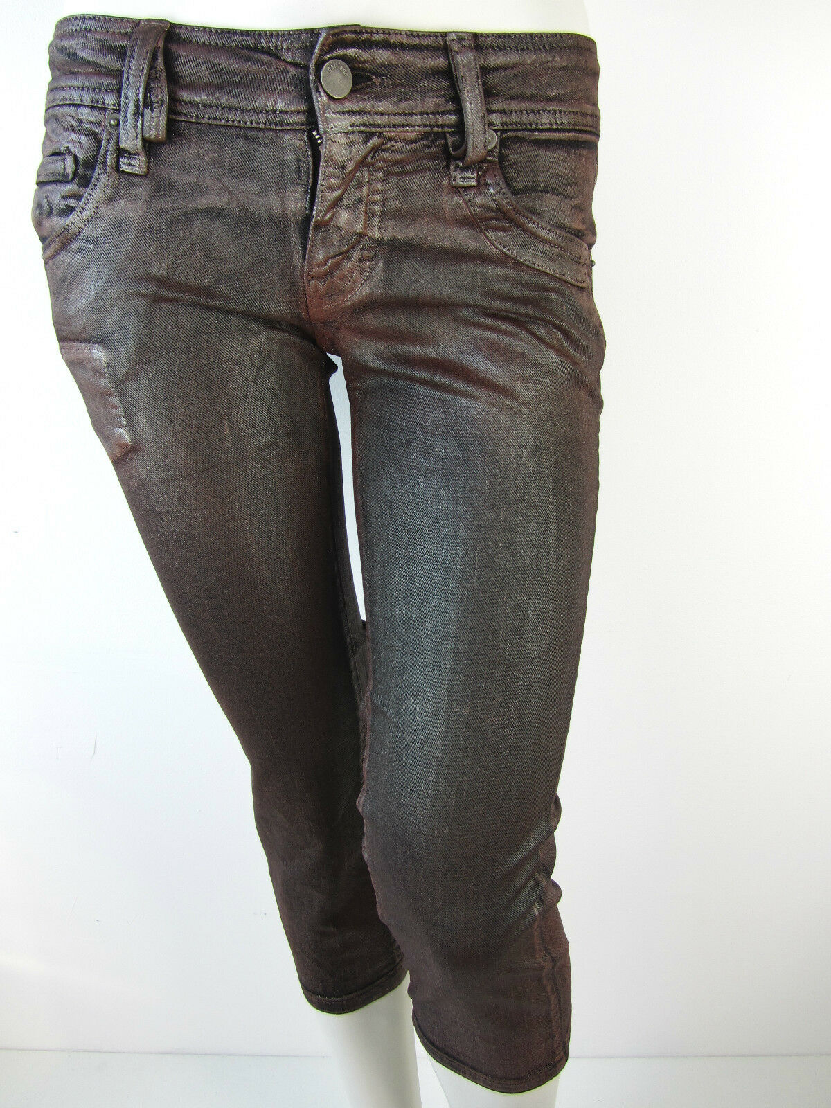 John Galliano Damen Caprijeans Capri Jeans Pants Hose