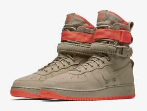 NIKE SF AF1 SPECIAL FORCE AIR KHAKI RUSH CORAL TAN 864024 205