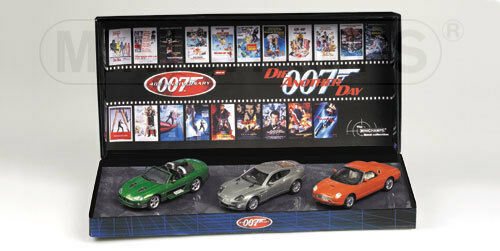 007 James bond set 2002 les Another Day Limited Edition set 1 43 402041202