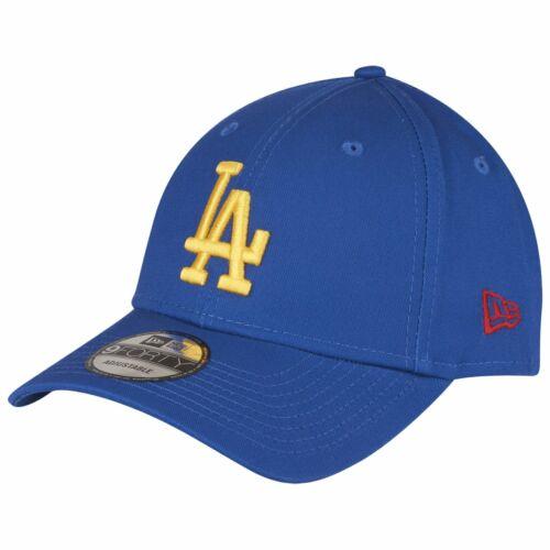 New Era 9Forty Cap gelb MLB Los Angeles Dodgers royal