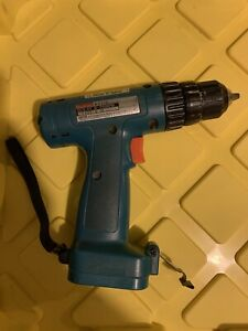 bare tool only..WORKING MAKITA 6222D CORDLES DRILL// DRIVER 9.6V,-USED