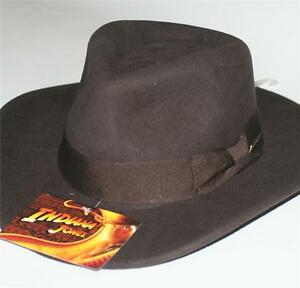 Image is loading INDIANA-JONES-Dorfman-Pacific-WOOL-FELT-FEDORA-HAT- 6ff4d04fff0