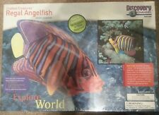 Crafted Creatures Model Kit Regal Angelfish Plastic NIB Discovery Channel Nature
