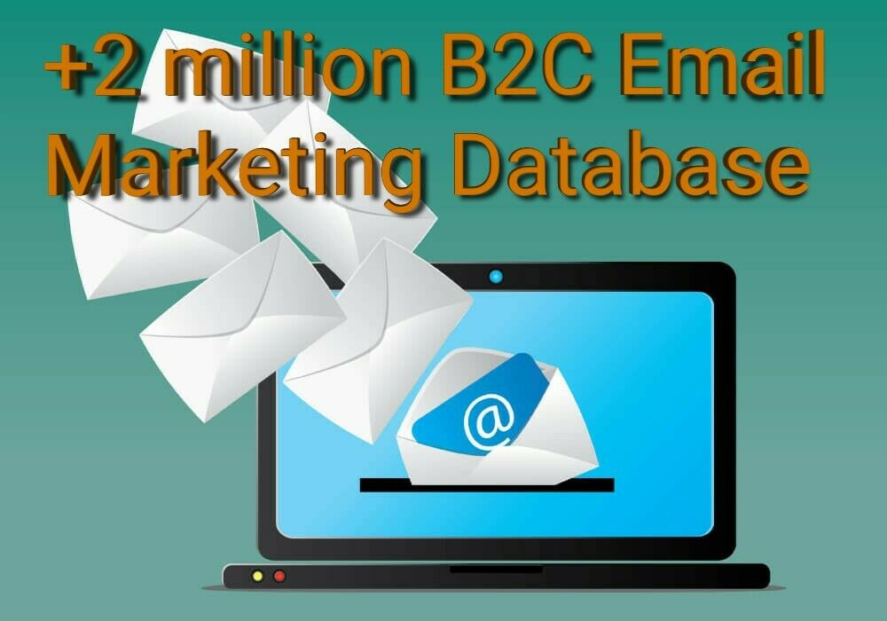 +2 Million UK B2B, B2C Only Email Database List Marketing