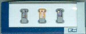 Rietze-70198-Getrankeautomaten-3-Stueck-H0