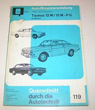 Reparaturanleitung Ford Taunus 12M / 15M  P6  - Baujahre 1966 bis 1970!