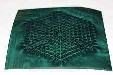 Magnetic Field Viewer Film 101 mm x 101 mm (4in x 4in) Genuine USA 'Green film'