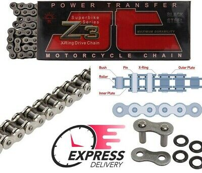 X-Ring Open with Rivet Link JT Chain 530/X1R 108/links