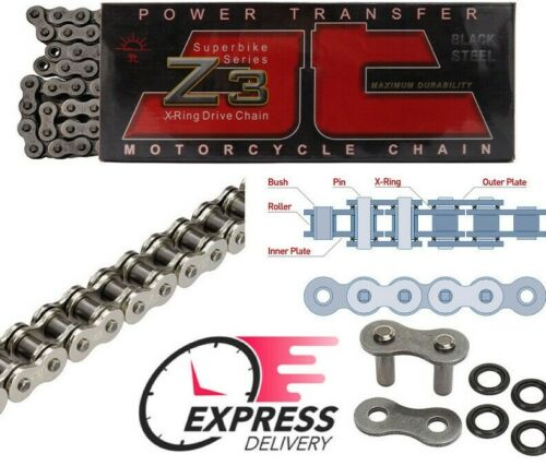 JT X-Ring Super HD Drive Chain 530 Z3 110 L YAMAHA FJ1200 FJ 1200 1984-1996