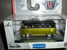 1/64th M2 Machines Auto Thentics 1958 VW Microbus 15 Window USA Model
