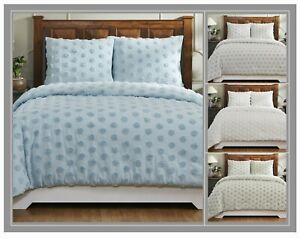 Better Trends Athenia Collection 100% Cotton Chenille Comforter Set