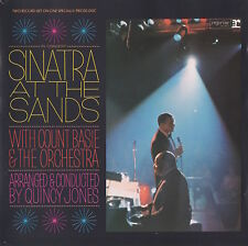 FRANK SINATRA IN CONCERT AT THE SANDS WITH COUNT BASIE & THE ORCHESTRA - RARE CD
