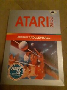 VOLLEYBALL-by-REALSPORTS-for-ATARI-2600-BRAND-NEW-FREE-SHIPPING