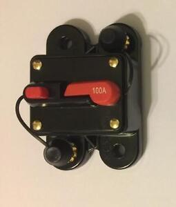 scosche 100 amp 12 volt circuit breaker fuse holder car audio stereo rh ebay com