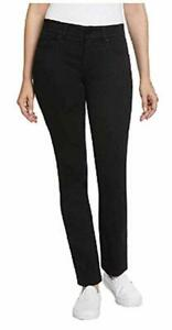 Jones-New-York-Womens-Comfort-Waist-Jeans-Black