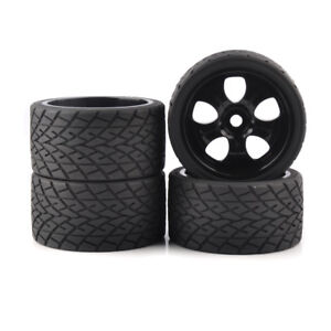 4X-1-8-Bigfoot-Tires-amp-Wheel-17mm-Hex-for-TRAXXAS-Monster-Truck-on-Road-Model-Car
