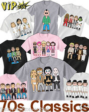 VIPwees Childrens T-Shirt Cult Movie Characters Caricatures Choose Your Design