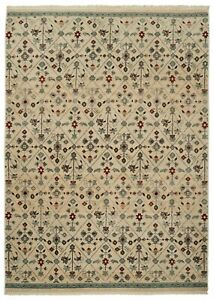 120 x 160 Home Antique Turkish Style Rug 120 x 160cm Neutral Beige Carpet Runner