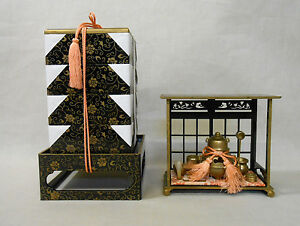 19-Japanese-Tea-Things-CHADOGU-Tiered-Food-Boxes-Ornament-for-HINA-Dolls