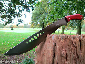 Machete-Messer-Knife-Bowie-Buschmesser-Coltello-Cuchillo-Couteau-Macete