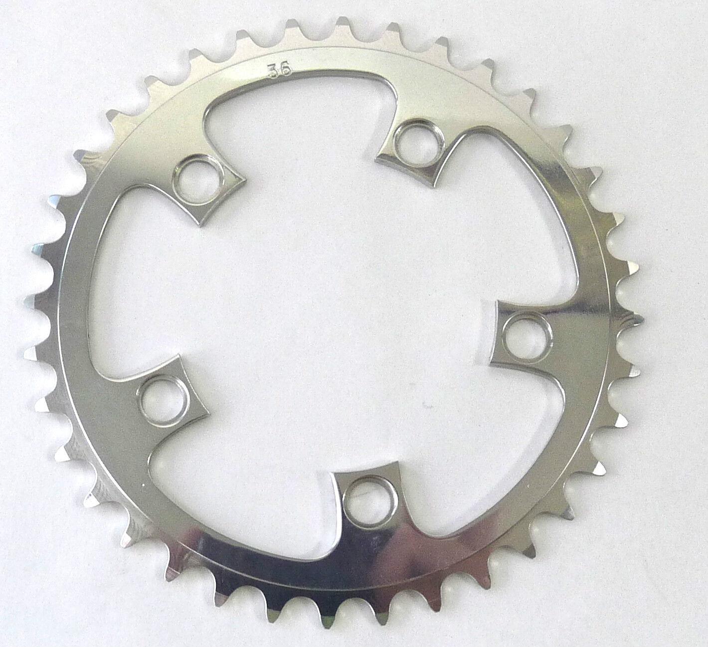 T.A. Chainring 36T 94 BCD Aluminum  3 32  VINTAGE OLD Road bike triple NOS