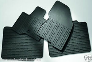 Oem New 2013 2014 Lincoln Mks All Weather Vinyl Floor Mats