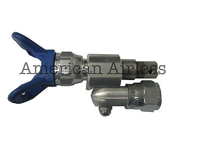 Clean Shot Shut-Off Valve for Paint Gun Pole Extensions 287030 by Graco w//TIP