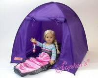 Purple Coleman® Tent Toys For 18 American Girl Dolls