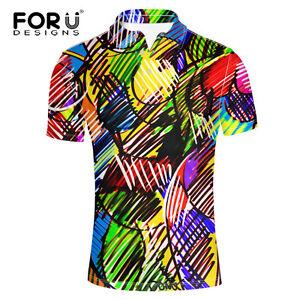 Fashion-Short-Sleeve-Loose-Tee-Performance-Cool-Shirt-T-shirts-Golf-for-Men-s