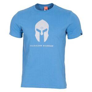 AgréAble Pentagon T-shirt Maglia Uomo Militare Spartan Casco Pacific Blue Voulez-Vous Acheter Des Produits Autochtones Chinois?
