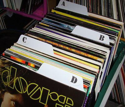 "Ingenious 12"" Vinyl A To Z Filing Kit Record Dividers 100% Original Filotrax white"