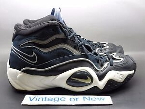 best service 40b80 01f4f Image is loading VTG-OG-Nike-Air-Flight-Turbulence-Navy-Black-