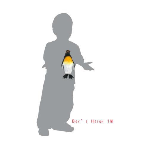 """12/"""" 30 CM doux en peluche Caoutchouc Pingouin Empereur Mer Ocean Life Animal jeu jouet"""