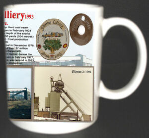OLLERTON-COLLIERY-COAL-MINE-MUG-LIMITED-EDITION-GIFT-MINER-NOTTS-PIT-ADD-TAG-FOC