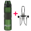 Mountain Bike Bicycle Cycling Water Drink Bottle and Holder Cage Useful 700ML ❀~