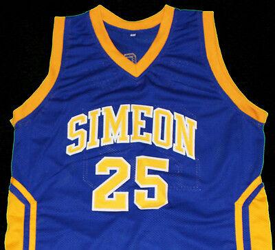 BEN WILSON SIMEON HIGH SCHOOL JERSEY BLUE NEW SEWN ANY SIZE