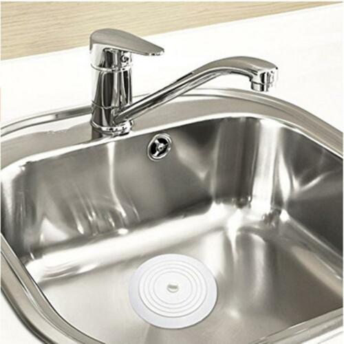 "5.9/""Silicone Bath Tub Sink Floor Drain Plug Kitchen Water Laundry Stopper Cap"