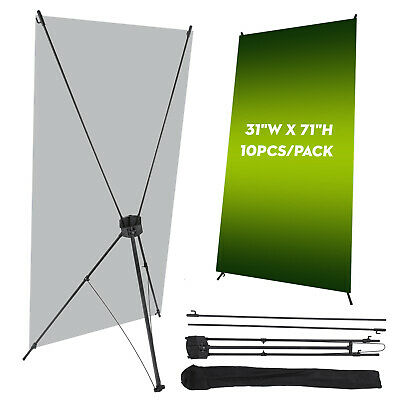 60 x 80,4 Pack,Standard Retractable Roll Up Banner Stand Economical Retractable Roll Up Trade Show Banner Stand