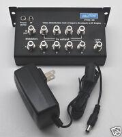 Distribution Amplifier Audio Video Ctire-38 8 Output W/power Supply