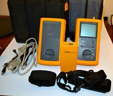 Fluke Dsp 100 Cable Meter Dsp Sr Smart Remote Amp Lanmeter With 2 Cases Cables