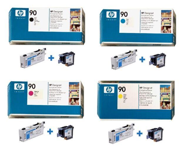 Original HP Printhead Designjet 4000 4050 4500 Ps / No. 90 C5054A C5055A -C5057A