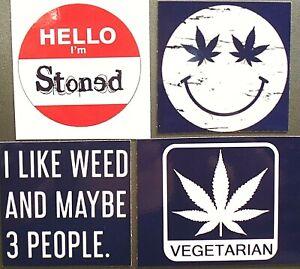 Sorry We/'re Stoned Magnet Marijuana Pot Cannabis 420 Weed MJ CBD THC Novelty