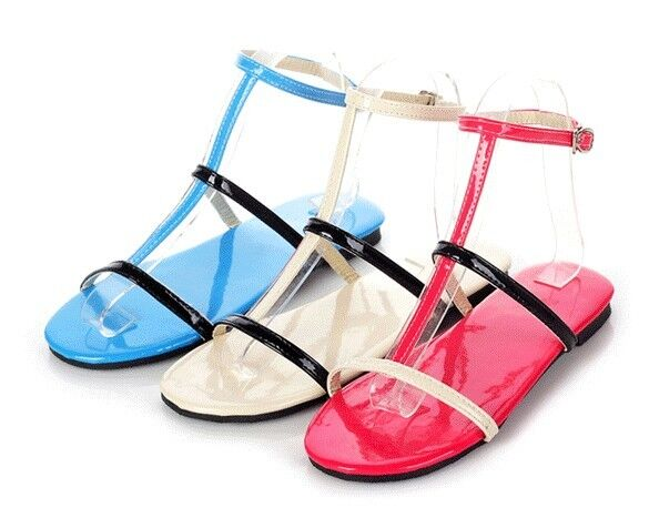 Sandals sandals summer woman low heel available in three colours 8336