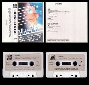 VIVA-MIX-SPAIN-CASSETTE-DIVUCSA-VIVA-DISC-1986-EXCELLENT-EXCELENTE