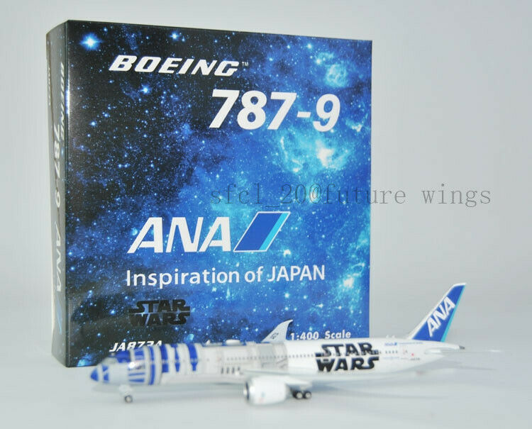 (Very Rare)1 400 Phoenix ANA B787-9 JA873A Aircraft modello (discounted item)