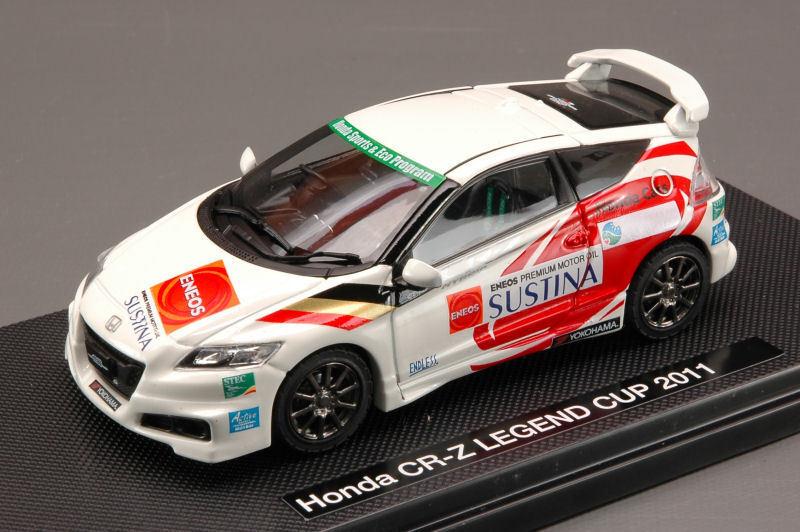 Honda Cr-z Legend Cup 2011 blanc (Décalques n.3 15 32 37) 1 43 44692 EBBRO