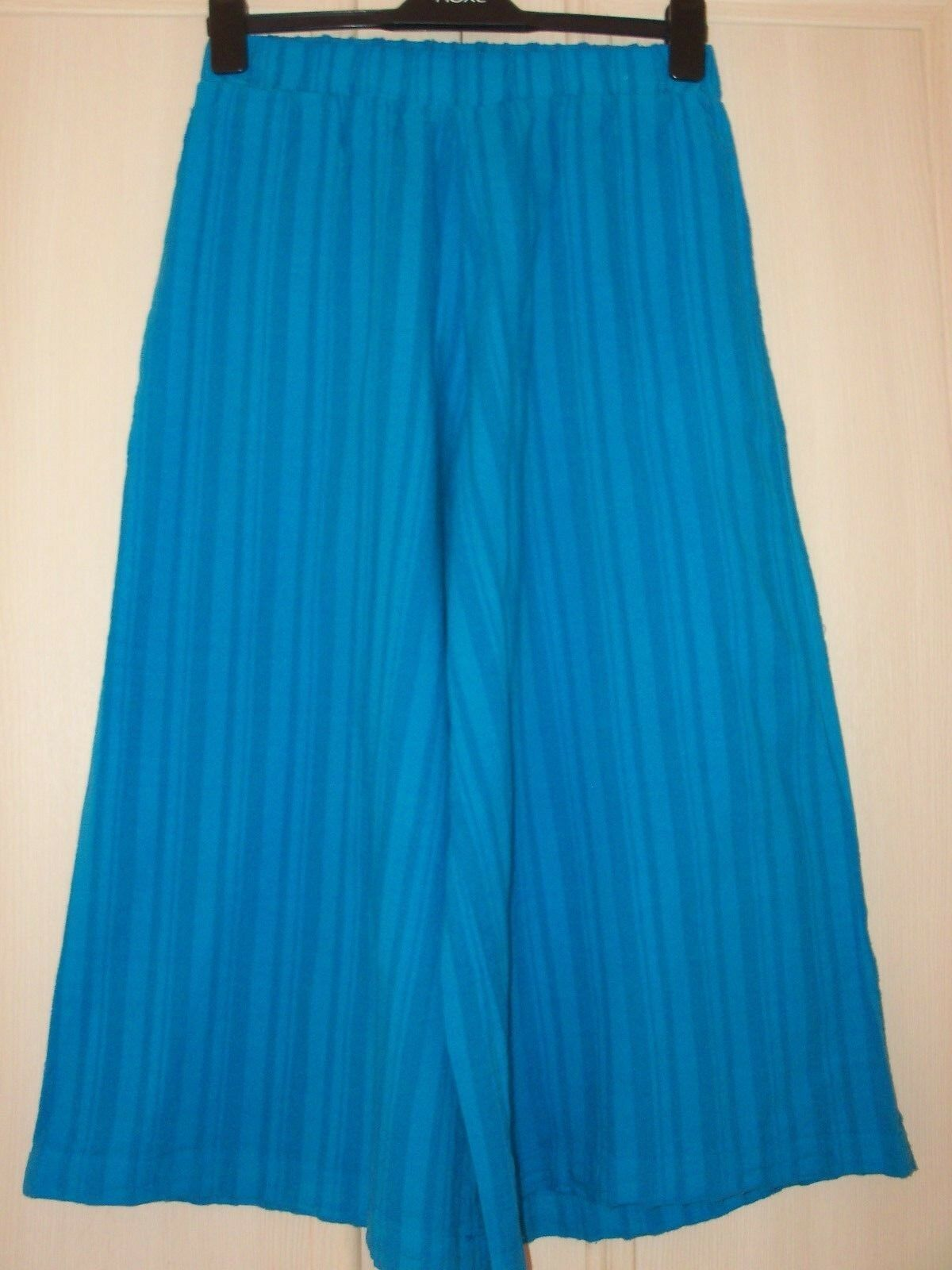 NEW JOIN Clothes Culottes   Pants Azure bluee Size UK Small or Medium
