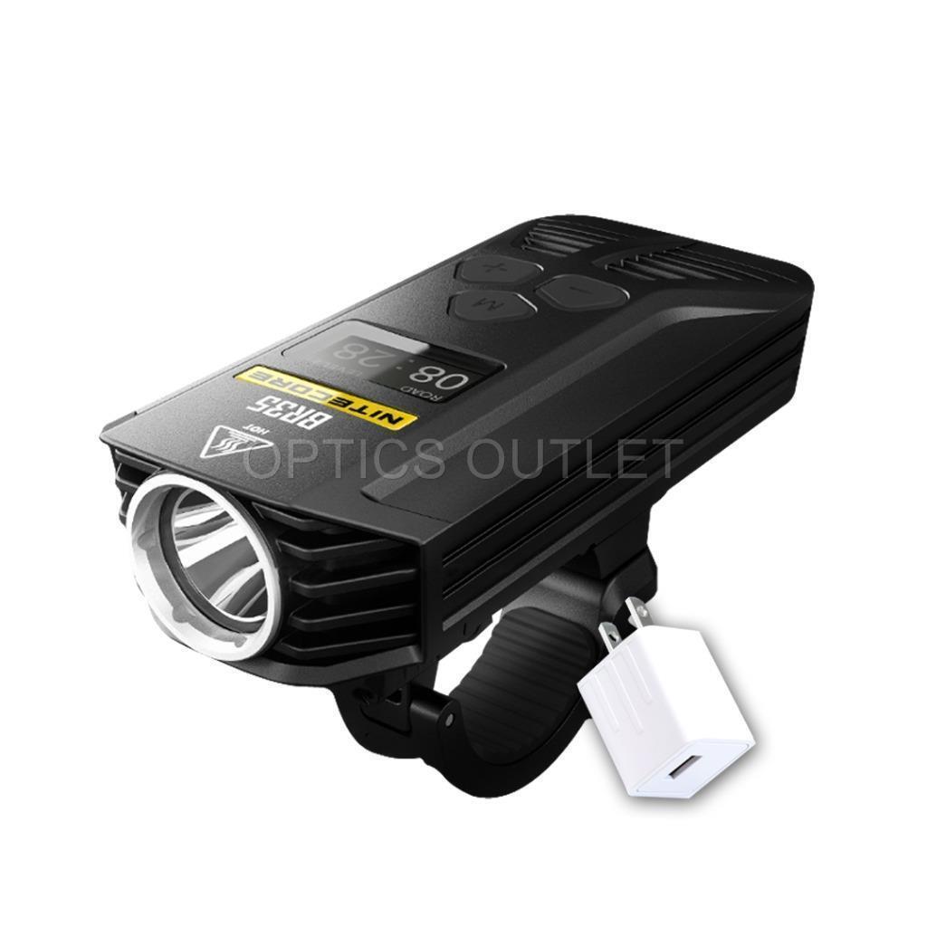 NITECORE BR35 1800 Lumen LED USB Rechargeable Bike Headlight w AC Power Adapter