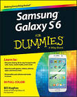 Samsung Galaxy S 6 For Dummies by Bill Hughes (Paperback, 2015)